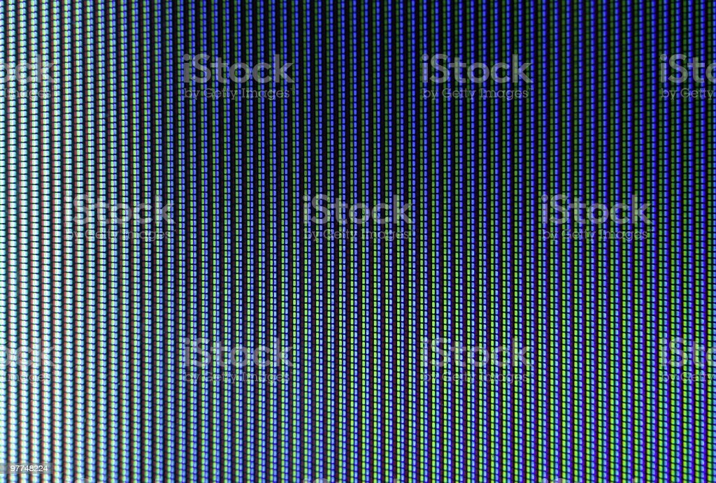 Tv screen close-up as background stock photo