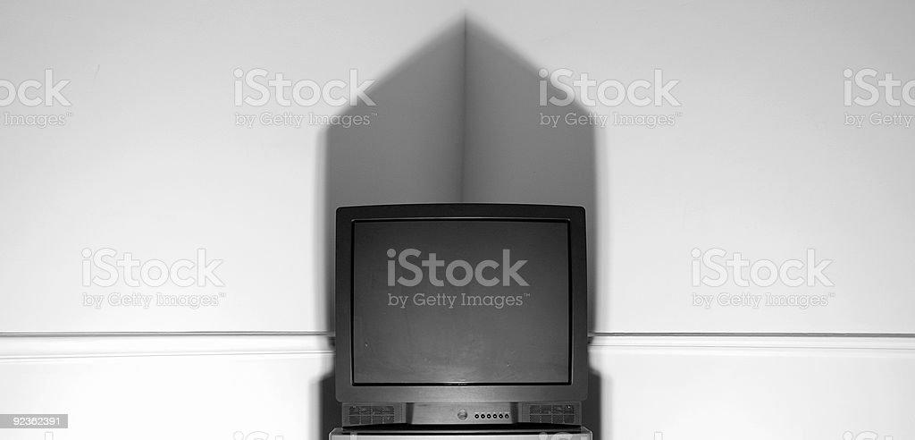 Fernseher Lizenzfreies stock-foto
