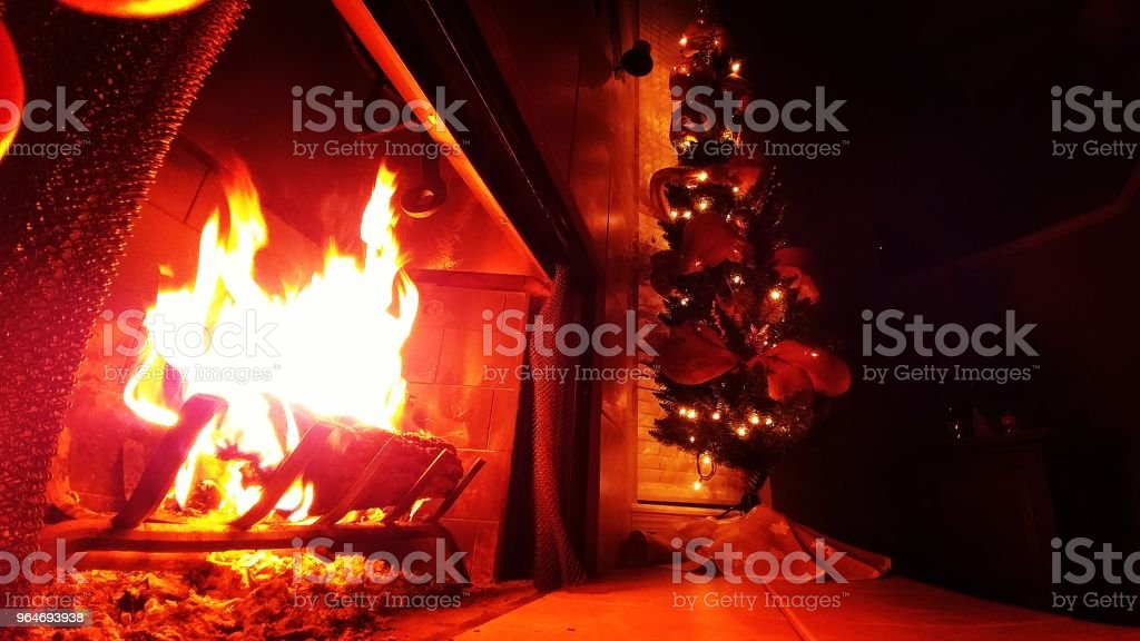 Twas the night before Christmas. royalty-free stock photo