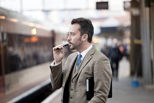 Tweed Businessman stock photo