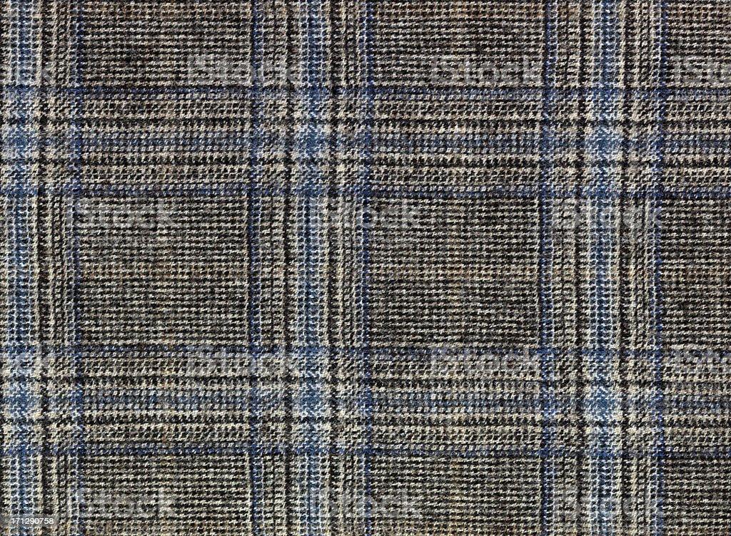 Tweed cloth stock photo