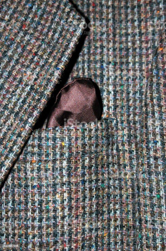 Tweed Jacket stock photo