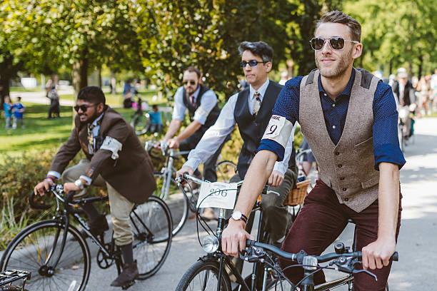 Toronto, Kanada – 20. September 2014: Tweed-Ride – Foto
