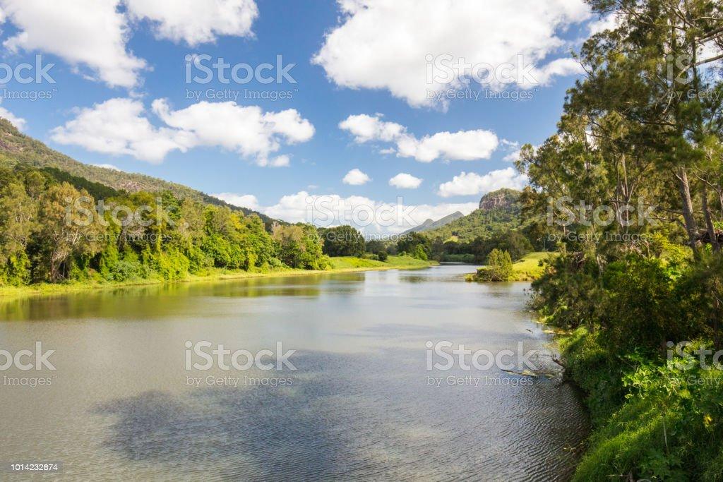 Tweed River stock photo
