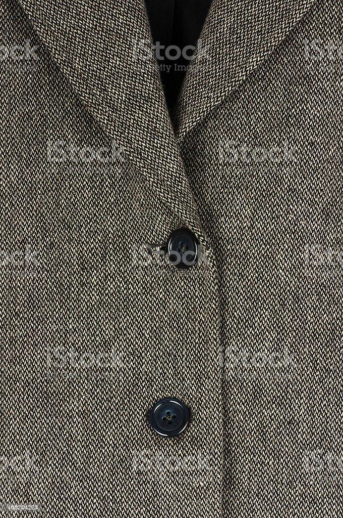 Tweed suit stock photo