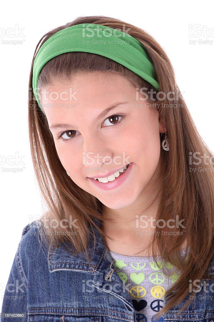 Tween Girl royalty-free stock photo