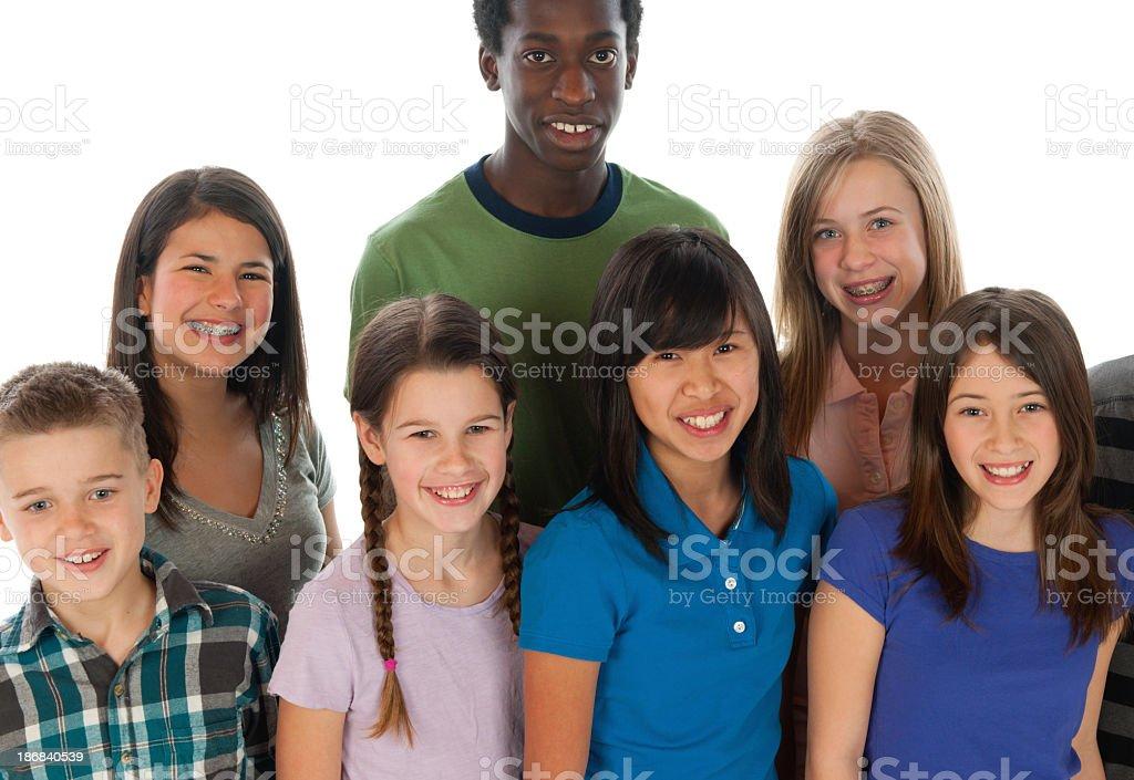 Tweens stock photo