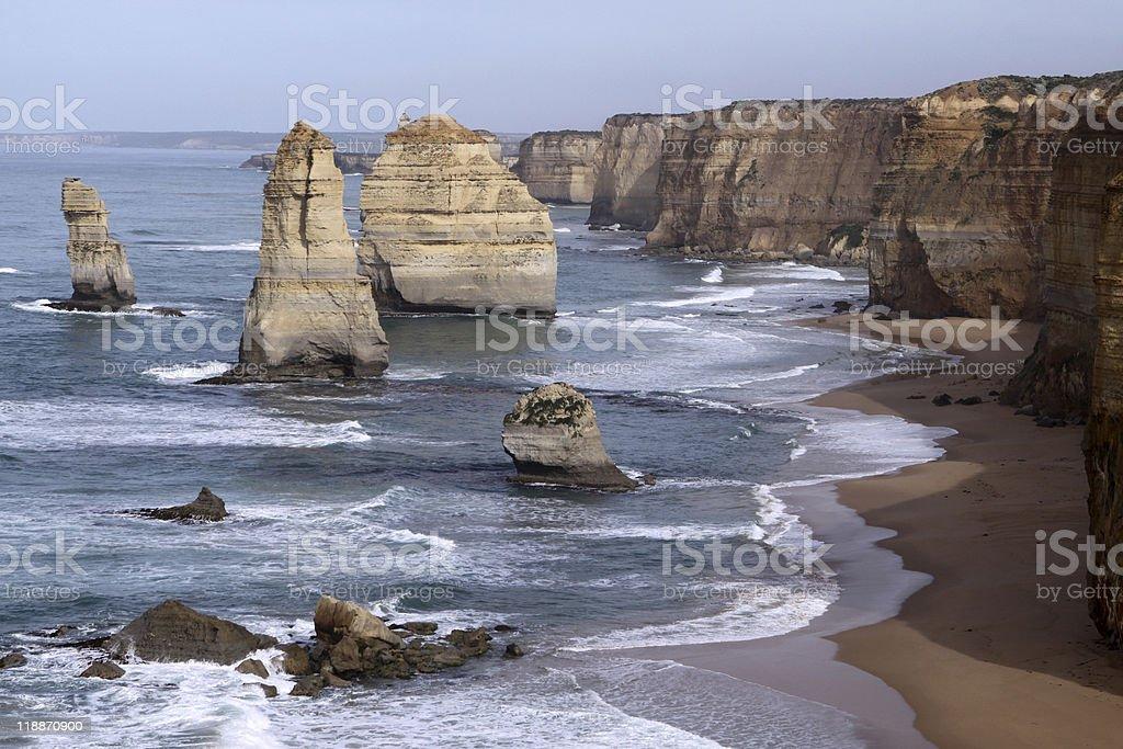 Twelve Apostles. Australia royalty-free stock photo