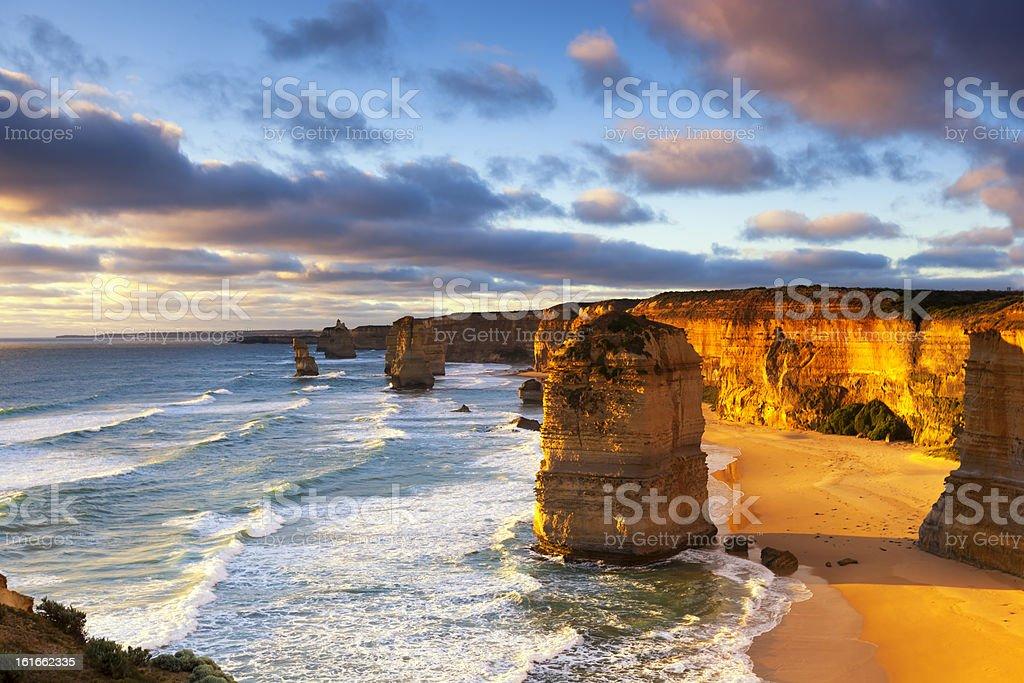Twelve Apostles Australia stock photo