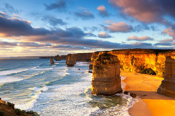 Twelve Apostles-Bergkette Australien – Foto