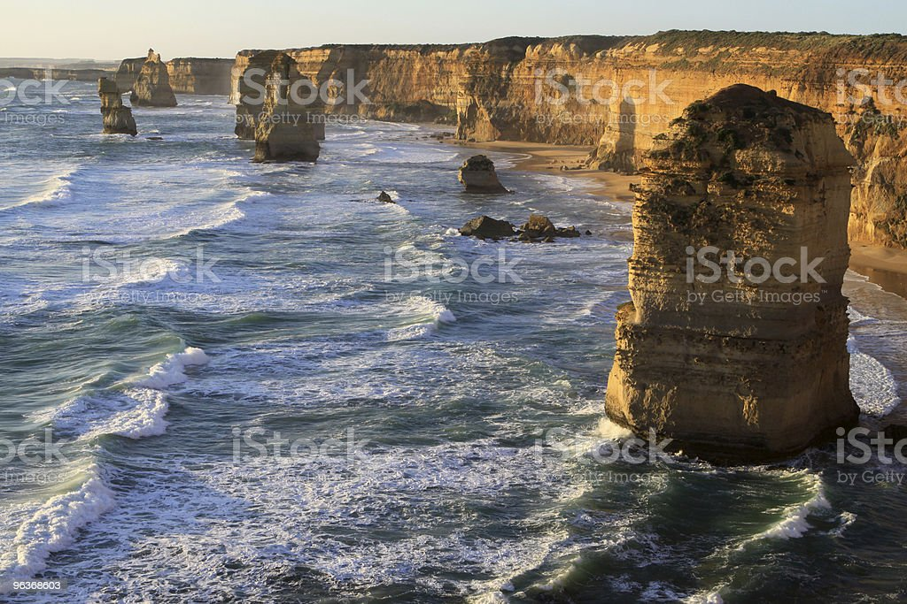 Twelve Apostles. Australia royalty-free stock photo