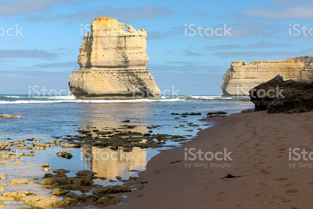 Twelve Apostles from the Gibson Steps. royalty-free stock photo