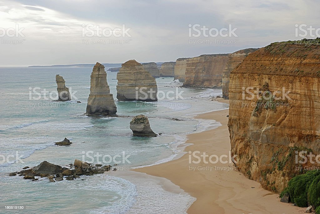 Twelve Apostles, Great Ocean Road - Victoria, South Australia royalty-free stock photo