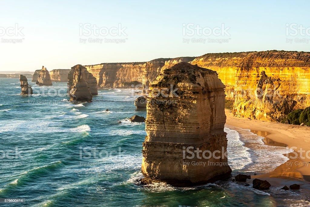 Twelve Apostles.  Port Campbell National Park. Australia stock photo