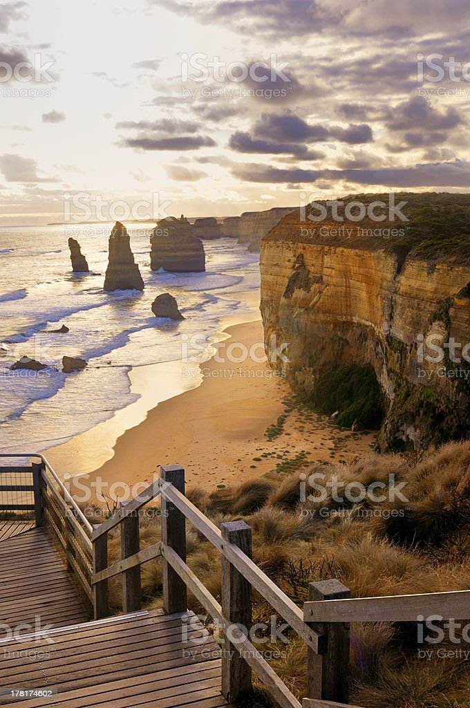 Twelve Apostles Rocks - Australia stock photo