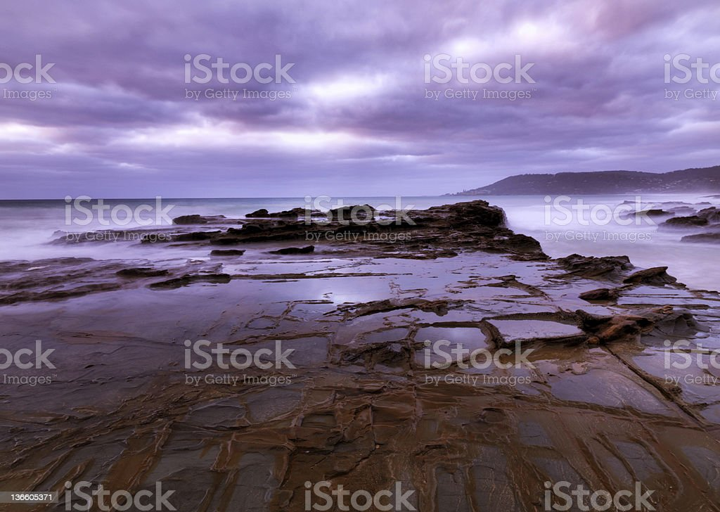 Twelve Apostles Sea Rocks royalty-free stock photo