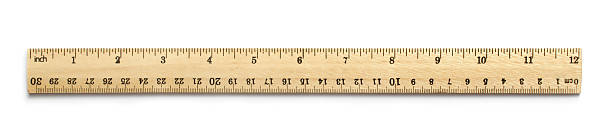 twelve inch ruler - ruler stock photos and pictures