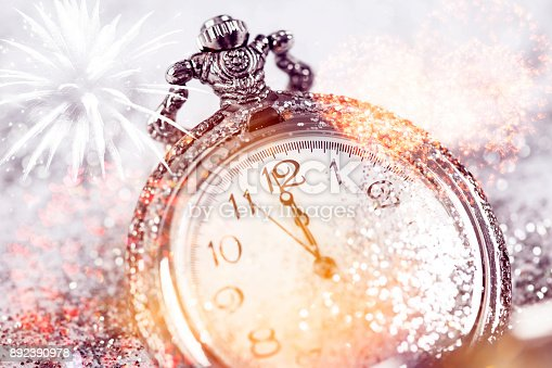 istock Twelve o'clock - new year's eve 892390978