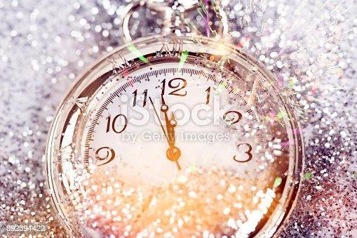 istock Twelve o'clock - new year's eve 892394422