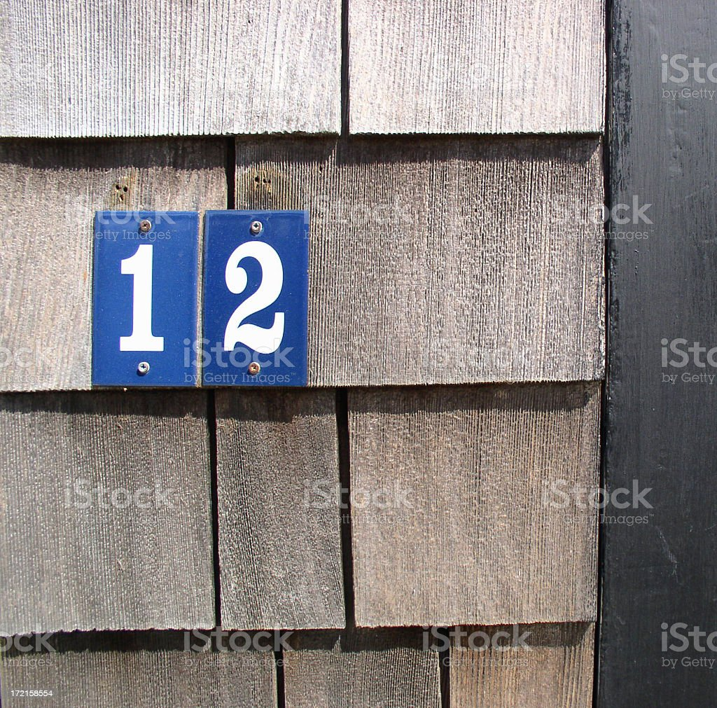 Twelve royalty-free stock photo