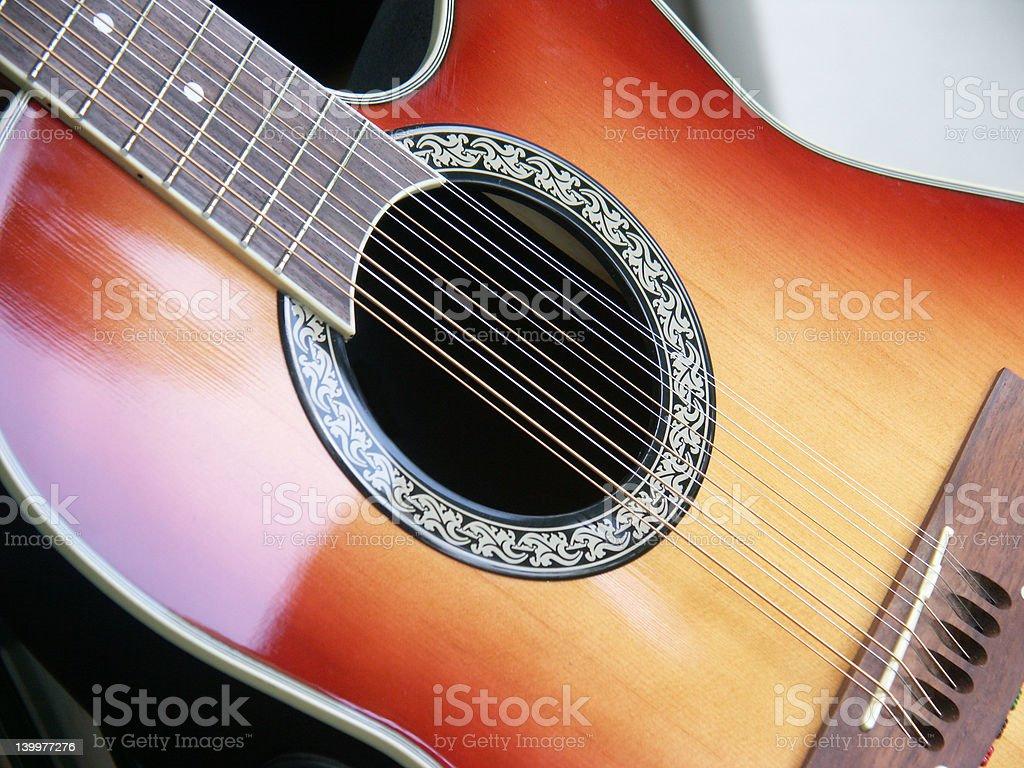 Twelve String stock photo