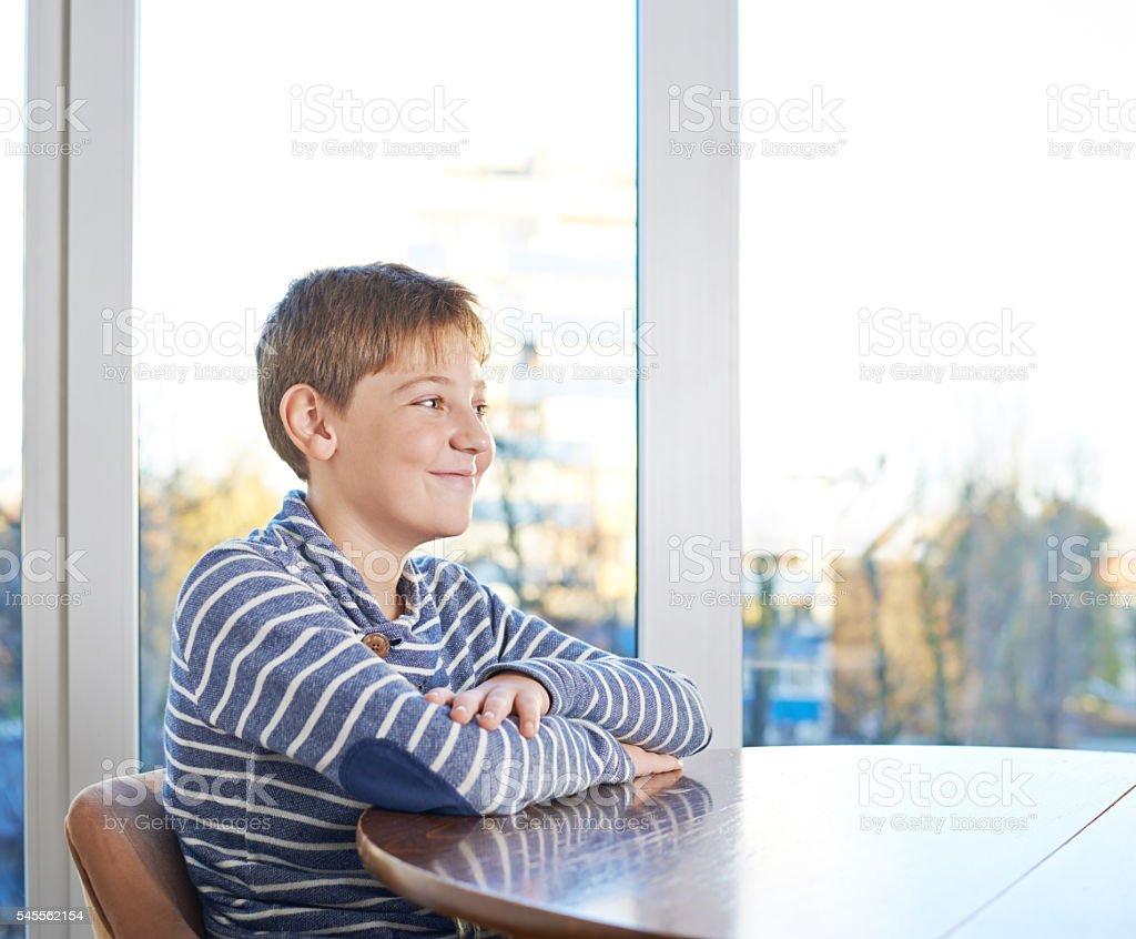 twelve year old children composition stock photo