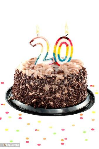 istock Twentieth birthday or anniversary 176861390