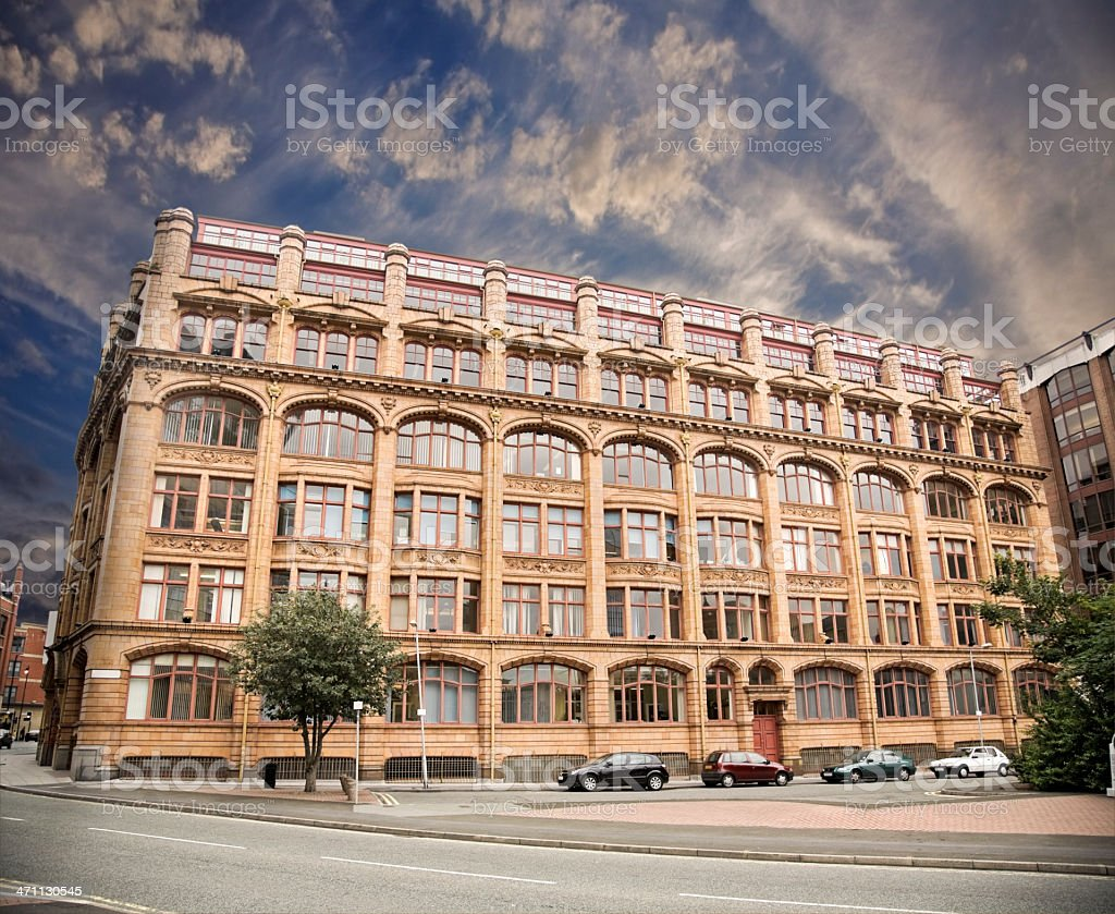 Twentieth Century Office and Residential Block-Click for Related Images royalty-free stock photo
