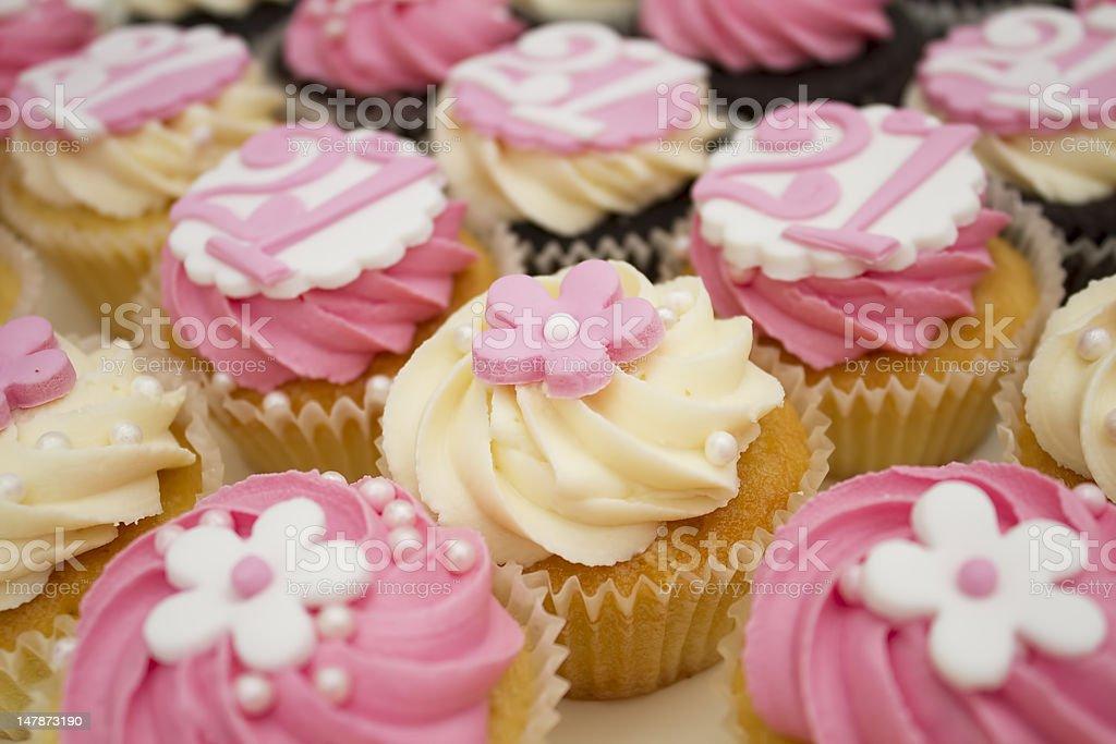 21. Geburtstag cupcakes – Foto