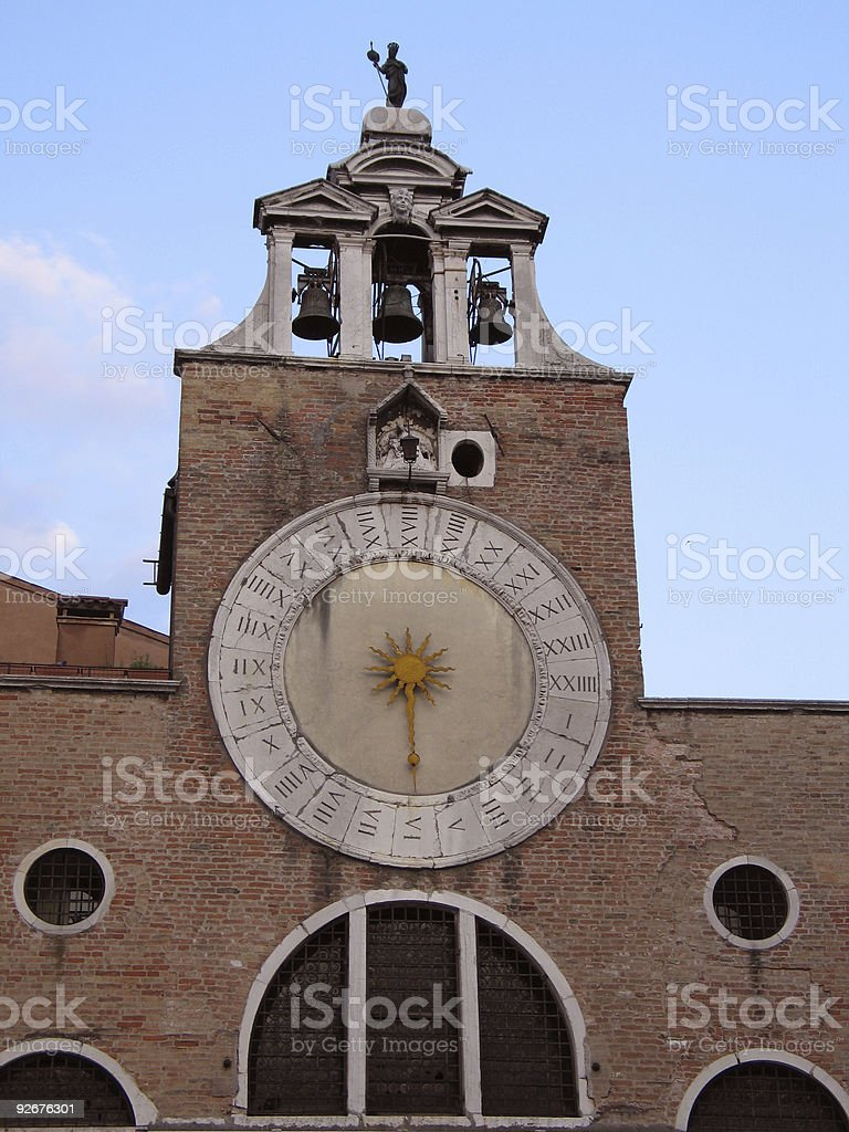 Twenty Four hour clock royalty-free stock photo