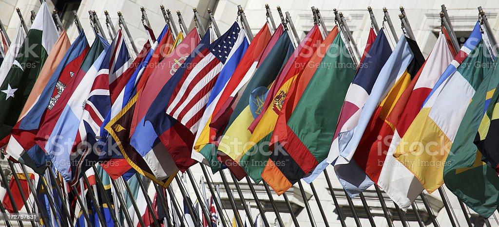 Veinticuatro de las Naciones - foto de stock