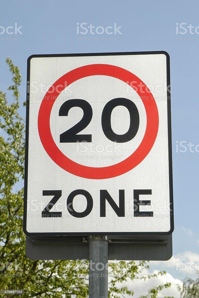 twenty limit stock photo