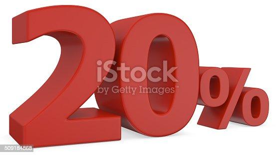 istock twenty percent discount 509184868