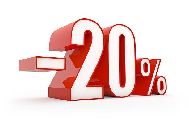 20 Prozent Ermäßigung, Abverkauf series – Foto