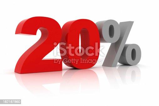 istock Twenty Percent 182187860