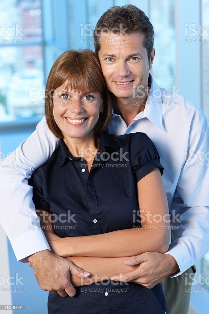 Twenty years together royalty-free stock photo
