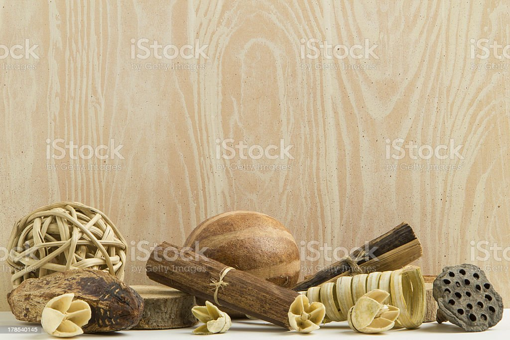 Twigs and Twine Background royalty-free stock photo