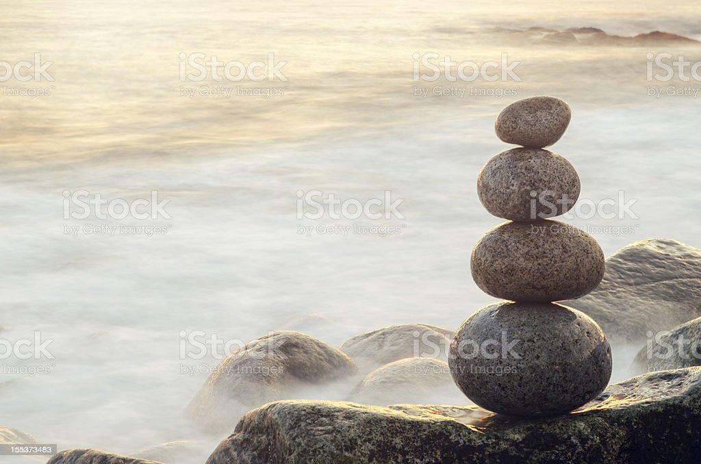 Twilight Balance royalty-free stock photo