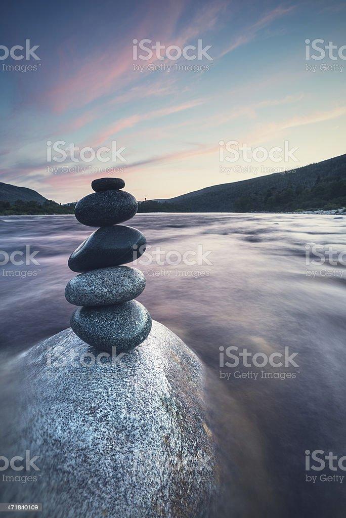 Twilight Balance stock photo
