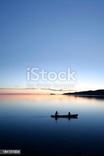 184332102istockphoto XXXL twilight canoeing 184151634