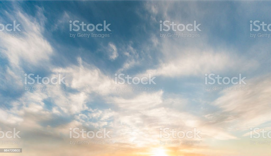 Twilight Cloudscape royalty-free stock photo