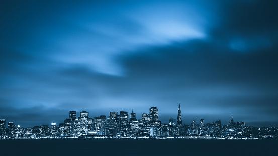 Twilight in San Francisco