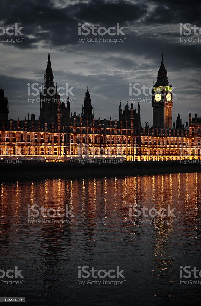 Twilight London royalty-free stock photo