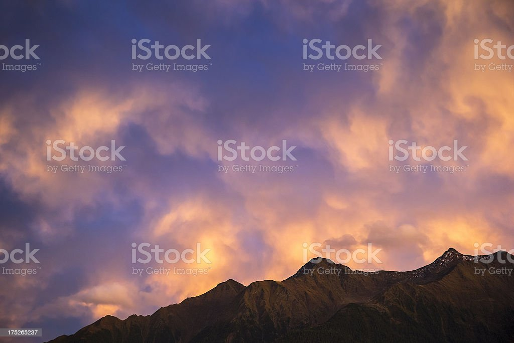 Twilight royalty-free stock photo