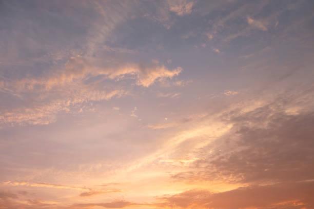 Twilight Sky stock photo