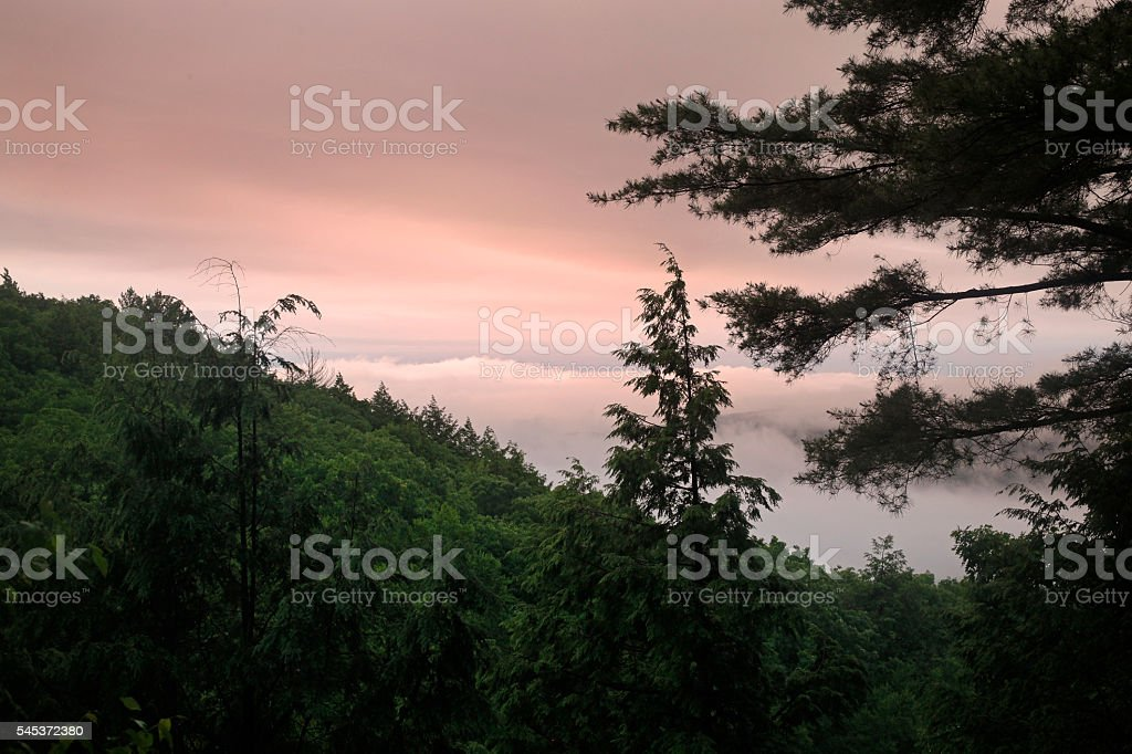 Twilight View stock photo