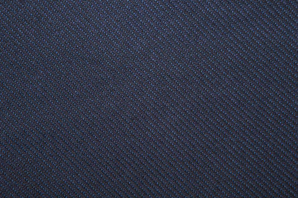 twill weave fabric pattern texture background closeup - corduroy stock pictures, royalty-free photos & images