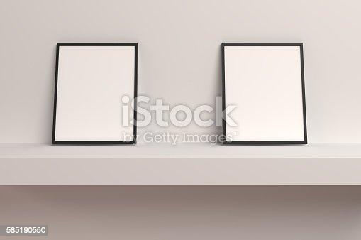 istock Twin Empty Frames 585190550