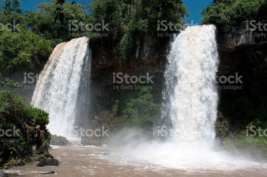 twin falls royalty-free stock photo