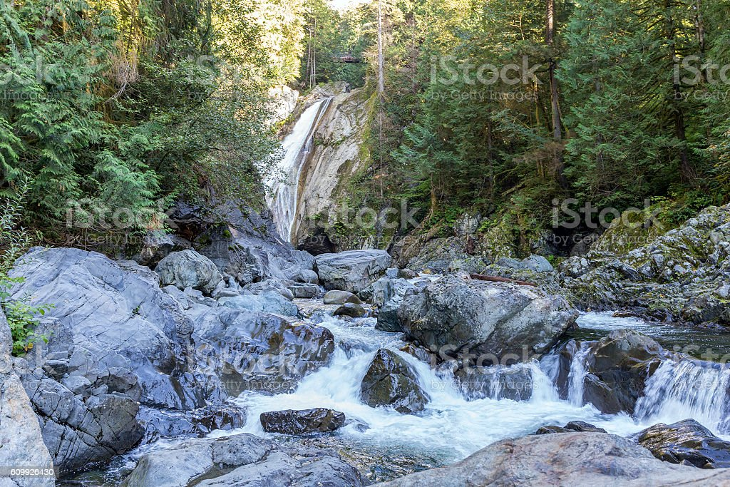 Twin Falls stock photo